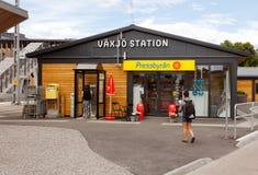 Vaxjo-Station lizenzfreie stockfotos
