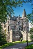 Vaxjo, Svezia - luglio 2017 Vecchio castello di Teleborg dello scandinavo in Svezia fotografie stock