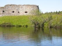 Vaxjo,Sweden. Kronoberg Castle ruin near Vaxjo in Sweden Royalty Free Stock Photos