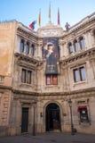 Vaxmuseum Barcelona, Spanien royaltyfria bilder