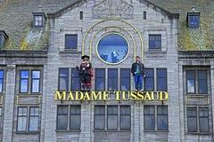 Vaxmuseum för madam Tussaud i Amsterdam, Nederländerna Royaltyfria Foton