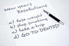 Vaya al dentista Fotos de archivo libres de regalías