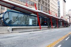 vaya för transport för bussreasystemthe Arkivbilder