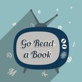 Vaya leen un libro libre illustration