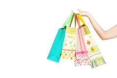 ¡Vayamos a hacer compras! Foto de archivo