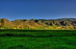 Vayk hills, Armenia. Vayk hills and fields in Armenia Stock Images