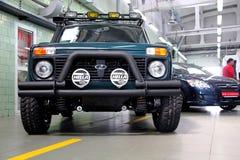 VAZ Lada Niva 4x4 jeep Royalty Free Stock Photo