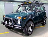 VAZ Lada Niva 4x4 jeep Royalty Free Stock Images