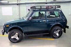 VAZ Lada Niva 4x4 jeep Royalty Free Stock Photos