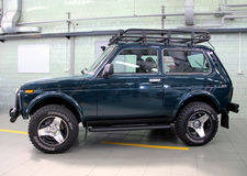 VAZ Lada Niva 4x4 jeep Stock Photo