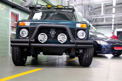 VAZ Lada Niva 4x4 jeep Stock Images