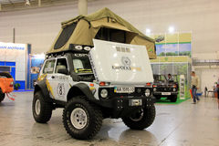 VAZ Lada Niva 4x4 jeep Royalty Free Stock Image