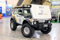 VAZ Lada Niva 4x4 jeep Stock Image