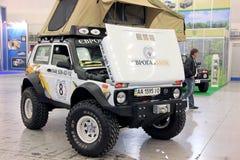 VAZ Lada Niva 4x4 jeep Stock Images