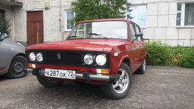 Vaz2106 russian classic machine Royalty Free Stock Images