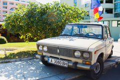 VAZ 2106 Zhiguli classic soviet vehicle stock images