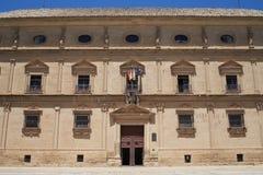 Vazquez De Molina pałac w mieście Ubeda Andalusia zdjęcie stock