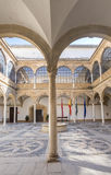 Vazquez de Molina Palace Palace of the Chains courtyard, Ubeda. Vazquez de Molina Palace Palace of the Chains courtyard, cloister, Ubeda, Spain Stock Images