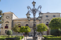 Vazquez de Molina Palace Palace of the Chains, Ubeda, Spain. Vazquez de Molina Palace or Palace of the Chains, nowadays, the city hall, Ubeda, Spain Royalty Free Stock Photos