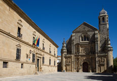Vazquez de Molina Square. World Heritage Site, Ubeda, Andalusia, Spain Royalty Free Stock Photo