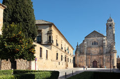 Vazquez de Molina Square, Ubeda, Spain Royalty Free Stock Photos