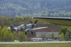 vb för mk-hetlevrad personsupermarine XVI (airshow) Royaltyfri Foto