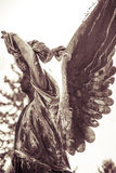 Vbronze angel. Unknown artist of the 18th cen Royalty Free Stock Photo