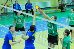 VC Burevіsnik– VC Dnipro. Ukrainian Cup in volleyball Royalty Free Stock Image
