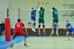 VC Dnipro – VC Vinnitsa. Ukrainian Cup in volleyball Stock Photos