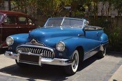 1946, VCCCI BUICK Super, rocznika i klasyka samochodu wiec, Kwiecień 1, 2018, Kharadi, Pune, maharashtra zdjęcia royalty free