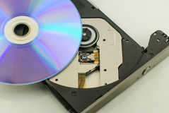 Vcd rom playe Stock Photo