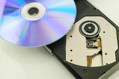 Vcd rom player Stock Photography