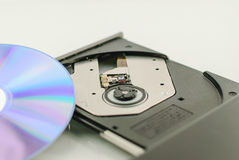 Vcd rom player for music Stock Images