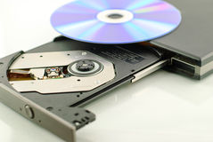Vcd rom player Royalty Free Stock Image