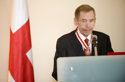 Václav Havel Royalty Free Stock Photography