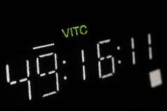 vcr съемки макроса дисплея передачи профессиональный Стоковое Изображение RF