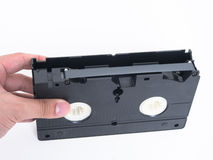 VCR tape. The is the VCR from the old day, retro entrainment of vdo record mode Stock Photos