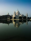 Vctoria Memorial, Kolkata , India - reflection on water. Victoria Memorial, Kolkata , India - reflection on water. A Historical Monument of Indian Architecture Stock Photography