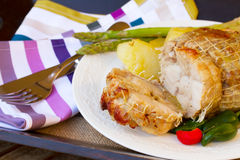Vcut of veal roast Royalty Free Stock Photo