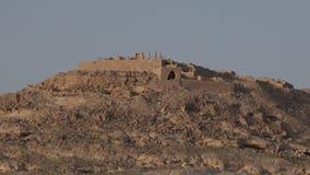 Vdat Nabataean city in the Negev Desert, Israel stock footage