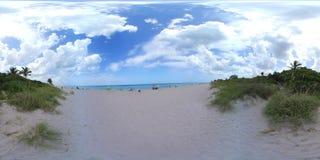 Vídeo de Florida 360 da praia de Hollywood filme