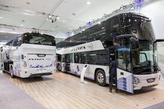 VDL autobusy przy IAA 2016 Fotografia Royalty Free