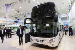 VDL Futura dwoistego decker autobus Obrazy Royalty Free