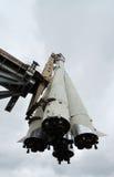 vdnh för spaceship för moscow museumrussia avstånd Royaltyfri Fotografi