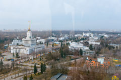 VDNkH from the Ferris Wheel Royalty Free Stock Images