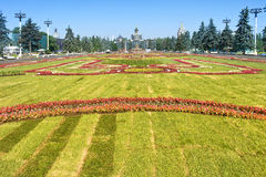 VDNKh, lawn Royalty Free Stock Photography
