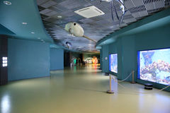 VDNKh Moskvarium - the biggest in Europe sea aquarium and entertainment center, Moscow, Russia Stock Image