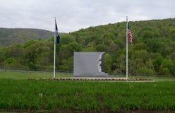 VDOT Workers Memorial. Waynesboro, VA - May 7; View of the VDOT Workers Memorial on I64 outside Waynesboro, Virginia on May 7, 2014 Stock Image