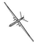 Veículo aéreo 2não pilotado (UAV) Imagem de Stock