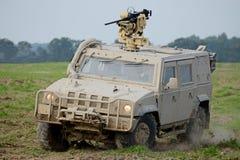 Veículo blindado de transporte de pessoal fotografia de stock